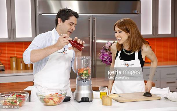 Shea Gallante and Ellie Kemper appear on NBC News' Today show