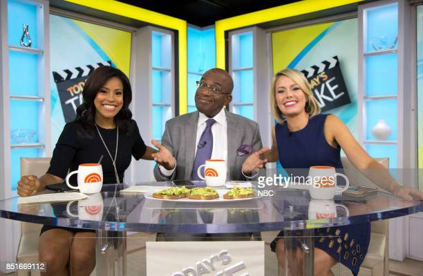 Sheinelle Jones Al Roker and Dylan Dreyer on Wednesday Sept 20 2017