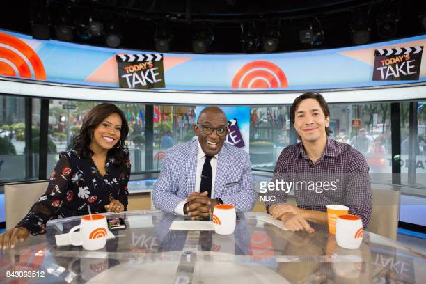 Sheinelle Jones Al Roker and Justin Long on Monday September 5 2017