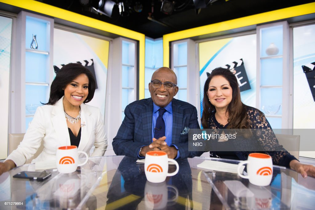 Sheinelle Jones, Al Roker and singer Gloria Estefan on Friday, April 21, 2017 --