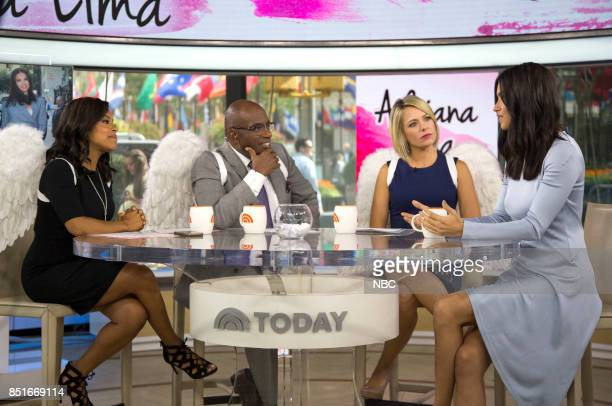 Sheinelle Jones Al Roker Dylan Dreyer and Adriana Lima on Wednesday Sept 20 2017