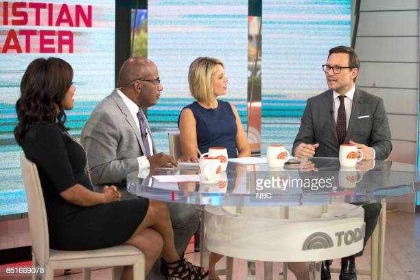 Sheinelle Jones Al Roker Dylan Dreyer and Christian Slater on Wednesday Sept 20 2017