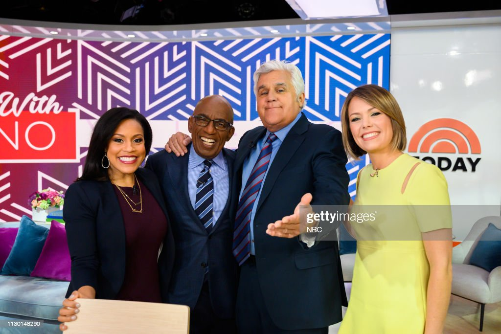 "NY: NBC's ""TODAY"" - Jay Leno, Ricky Gervais, Spring Styles, Damian McGinty, Cole Sprouse, Haley Lu Richardson"