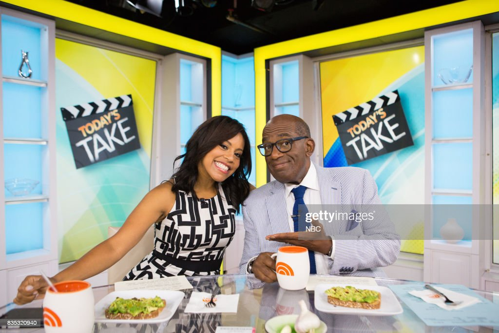 Sheinelle Jones and Al Roker on Friday, August 18, 2017 --