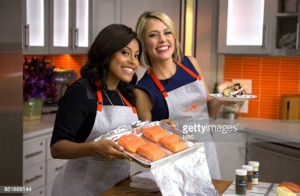Sheinelle Jones and Dylan Dreyer on Wednesday Sept 20 2017