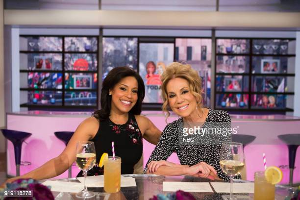 Sheinelle Jones and Kathie Lee Gifford on Friday Feb 16 2018
