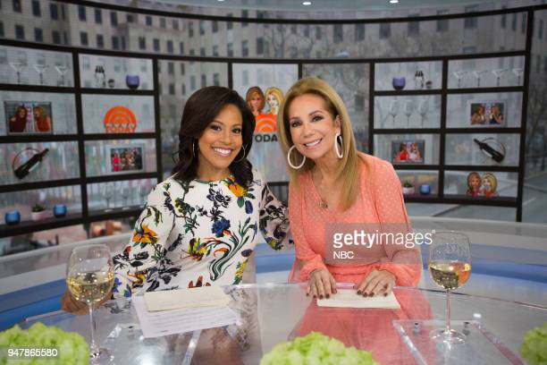 Sheinelle Jones and Kathie Lee Gifford on Tuesday April 17 2018