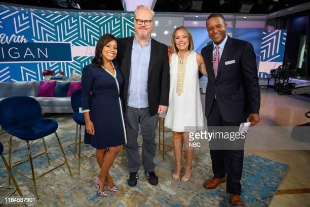 Sheinelle Jones Craig Melvin Dylan Dreyer and Jim Gaffigan on Thursday August 22 2019