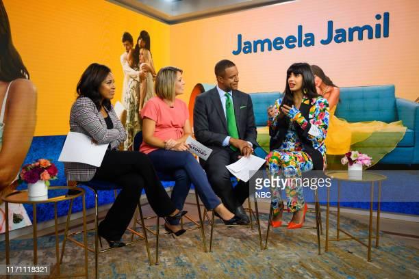 Sheinelle Jones Dylan Dreyer Craig Melvin and Jameela Jamil on Wednesday September 25 2019