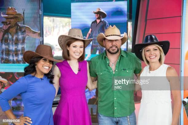 Sheinelle Jones Ellie Kemper Jason Aldean and Dylan Dreyer on Friday Aug 25 2017