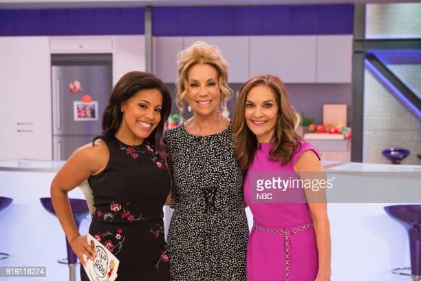 Sheinelle Jones Kathie Lee Gifford and Joy Bauer on Friday Feb 16 2018