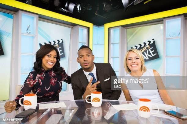 Sheinelle Jones Marlon Wayans and Dylan Dreyer on Tuesday August 22 2017