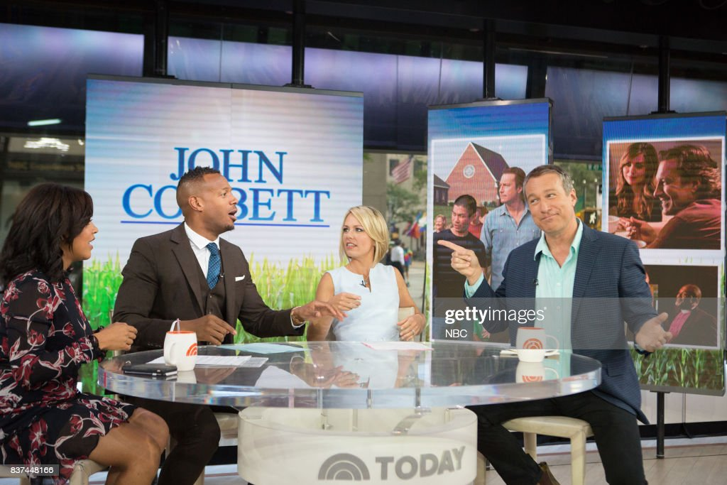 Sheinelle Jones, Marlon Wayans, Dylan Dreyer and John Corbett on Tuesday, August 22, 2017 --