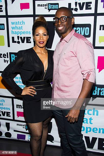 Sheree Whitfield and Fred Mwangaguhunga Photo by Charles Sykes/Bravo/NBCU Photo Bank via Getty Images