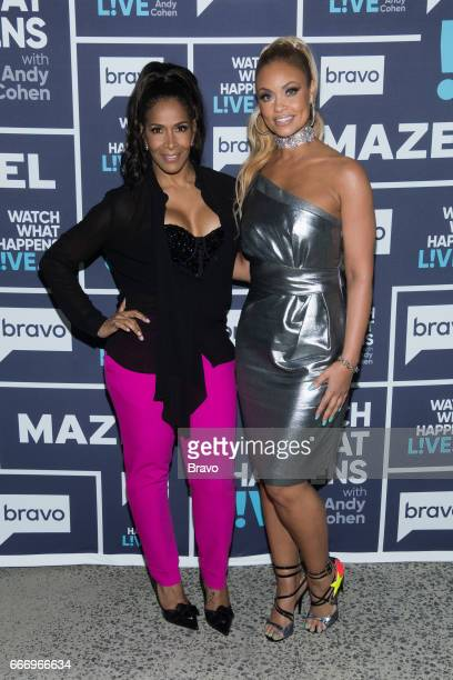 Sheree Whitfield and Gizelle Bryant