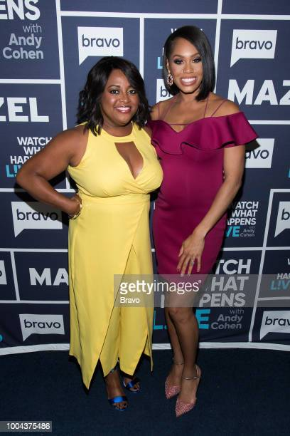 Sherri Shepherd and Monique Samuels