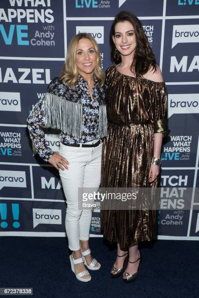Sheryl Crow and Anne Hathaway