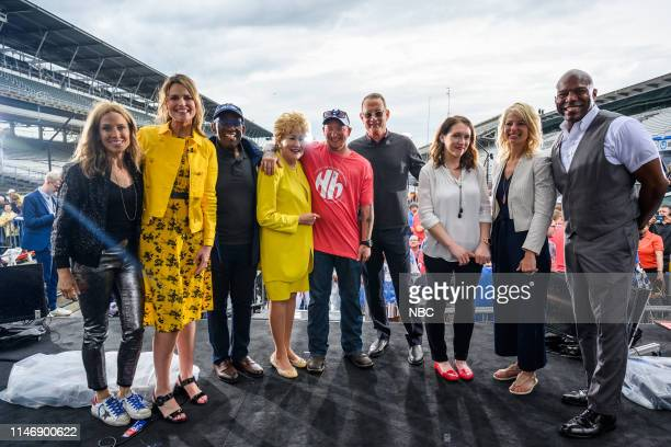 Sheryl Crow, Savannah Guthrie, Al Roker, Elizabeth Dole and Tom Hanks on Thursday, May 23, 2019 --