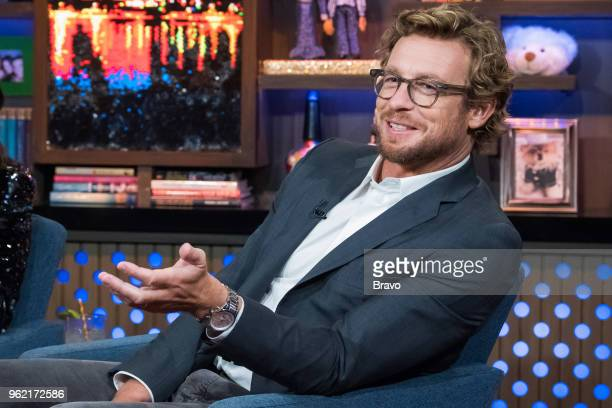 Pictured: Simon Baker --