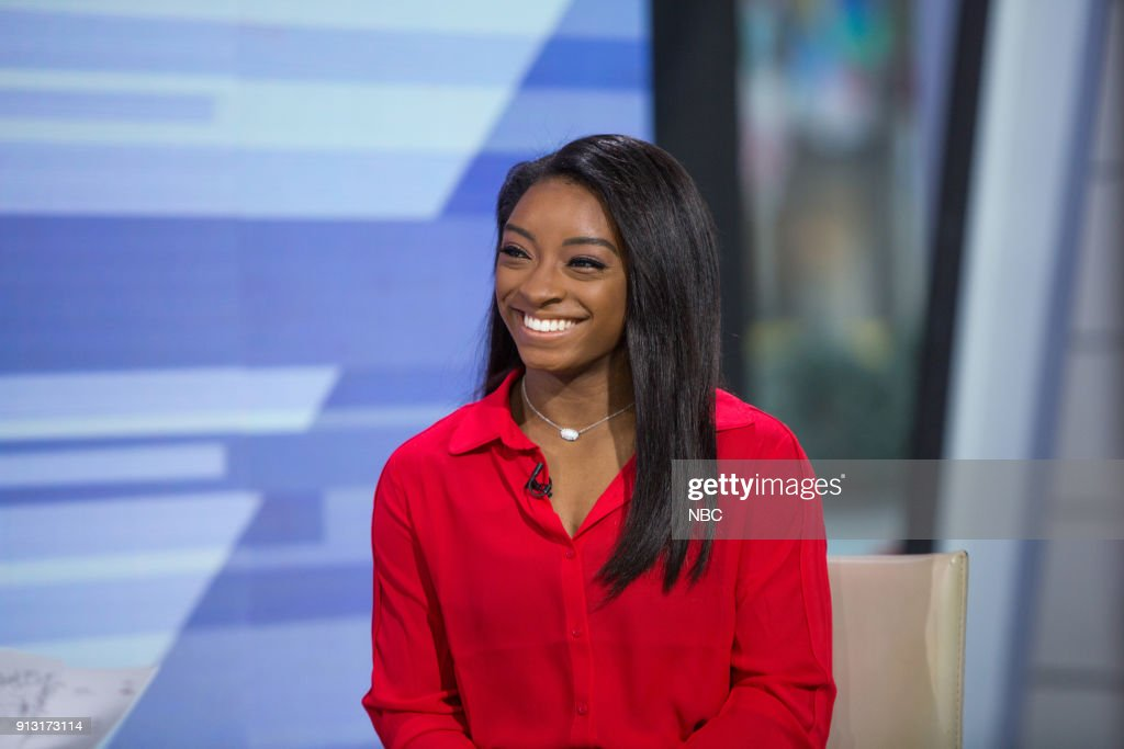 Simone Biles on Wednesday, Jan. 31, 2018 --