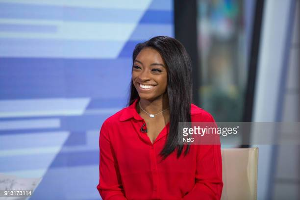 Simone Biles on Wednesday Jan 31 2018