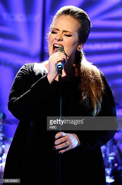 """Singer Adele performs on NBC News' """"Today"""" show"""