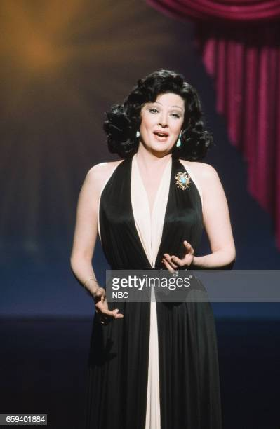 Singer Anna Moffo performing on April 27th 1976