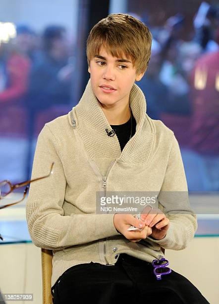 Singer Justin Bieber appears on NBC News' 'Today' show