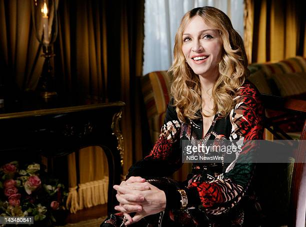 Singer Madonna during an interview with news correspondent Meredith Vieira which airs on Today Wednesday November 1 2006 and Thursday November 2 2006...
