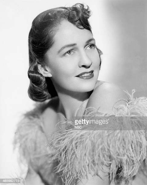 Singer Marion McManus in 1942