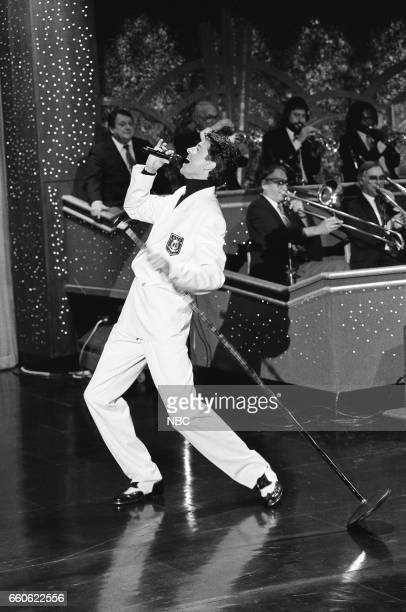 Singer Tommy Tune performs on June 17 1991