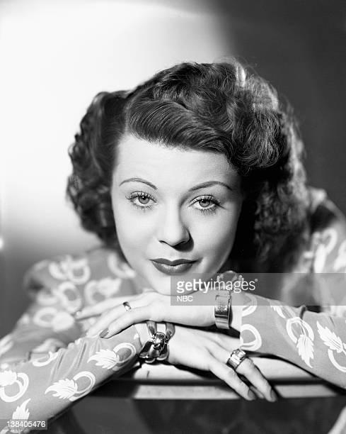 Singer/actress Harriet Nelson when she was known as Harriet Hilliard