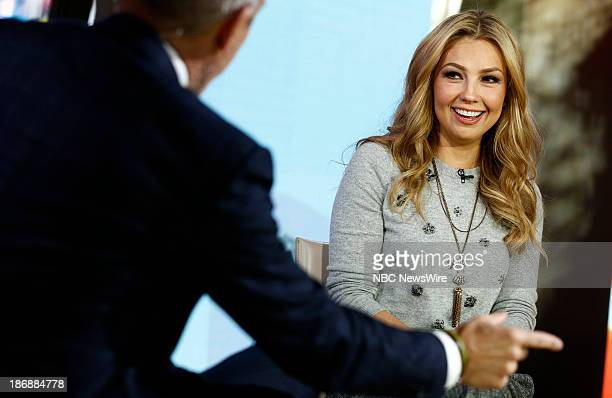 Singer/children's author Thalia appears on NBC News' 'Today' show on November 4 2013