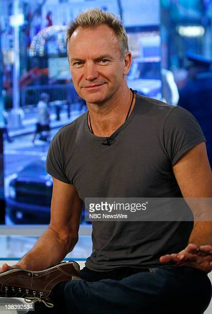 Singer/musician Sting talks about the inspiration for his song and the subject of his new book Lyrics on October 29 2007