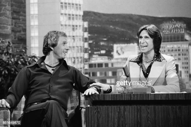 Singer/Songwriter Mel Tillis during an interview with guest host David Brenner on October 15 1976