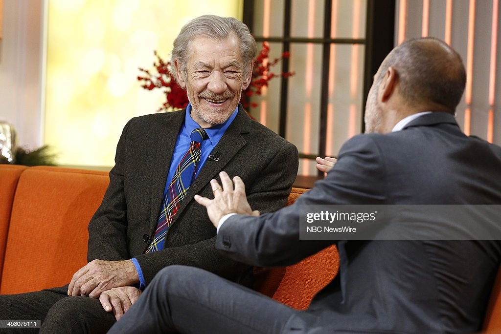 "NBC's ""Today"" With Guests Ian McKellen, Adriana Trigiani"