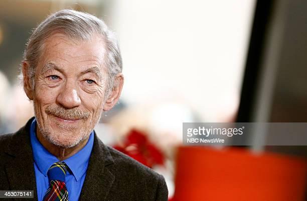 Sir Ian McKellen appears on NBC News' 'Today' show