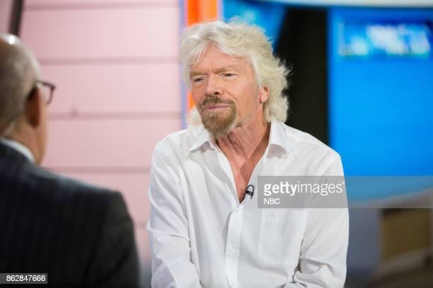 Sir Richard Branson on Tuesday October 17 2017