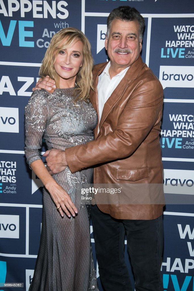 Sonja Morgan and Keith Hernandez --