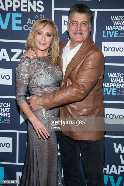 Sonja Morgan and Keith Hernandez