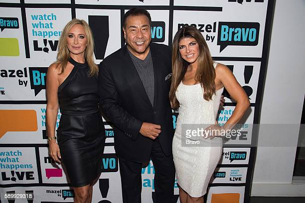 Sonja Morgan John Quinones and Teresa Giudice