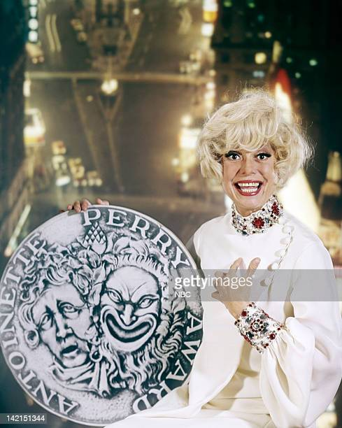 Special Award recipient Carol Channing for the 22nd Annual Tony Awards held at the Shubert Theatre in New York NY on April 21 1968