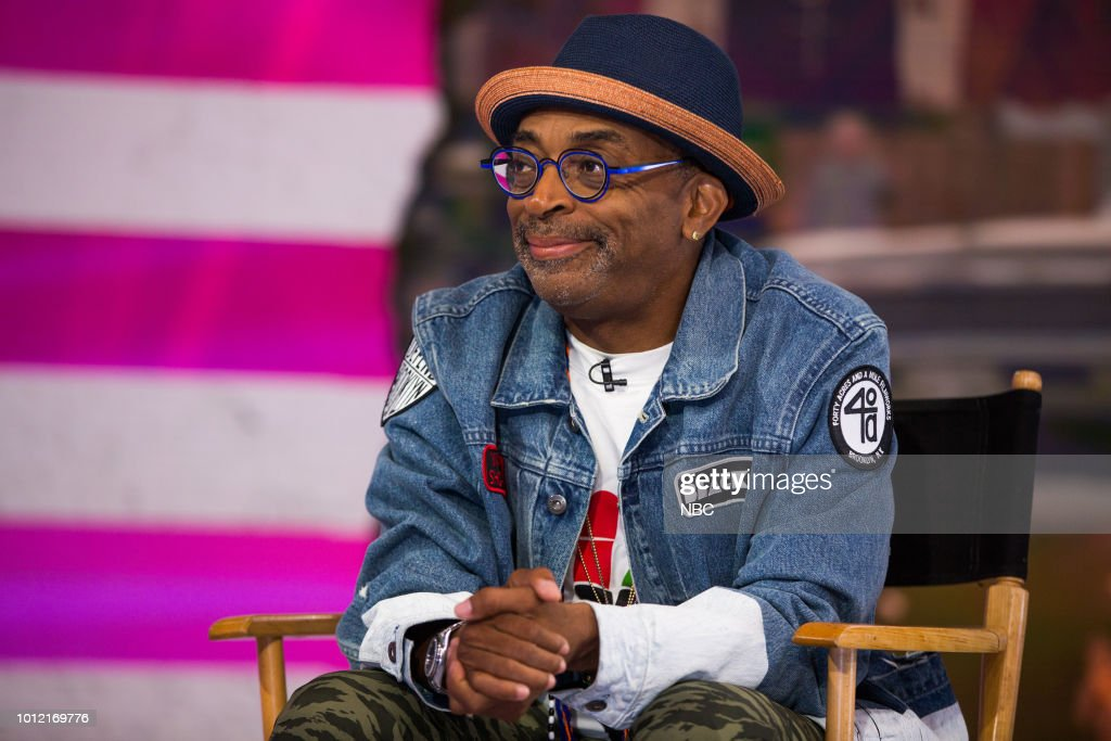 Spike Lee on Monday, August 6, 2018 --