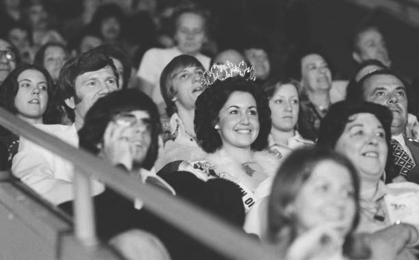 St Paul Winter Carnival QUEEN OF SNOWS BOBBIE MISCHKE on December 30th 1975
