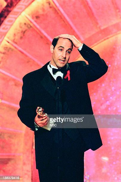 Stanley Tucci Best Actor In A Leading Role MiniSeries Or Television Movie for Winchell on stage during the 56th Annual Golden Globe Awards held at...
