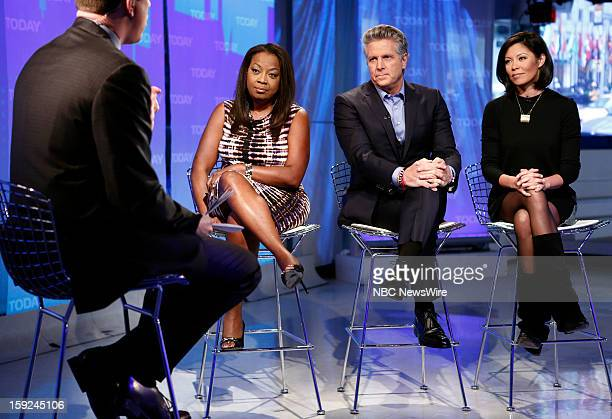 Star Jones Donnie Deutsch and Alex Wagner appear on NBC News' Today show