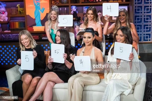 Stassi Schroeder Ariana Madix Kate Maloney Lala Kent Scheana Shay Kristen Doute and Brittany Cartwright