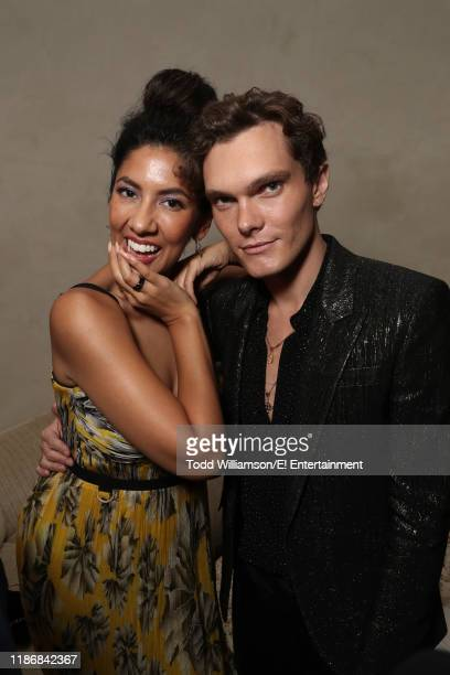 Pictured: Stephanie Beatriz and Luke Baines during the 2019 E! People's Choice Awards After Party held at the Santa Monica Proper Hotel on November...