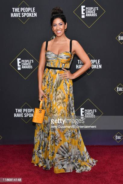 Stephanie Beatriz arrives to the 2019 E People's Choice Awards held at the Barker Hangar on November 10 2019 NUP_188989