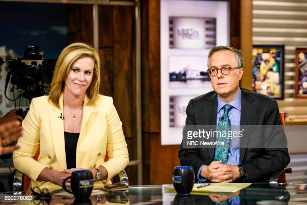 Stephanie Cutter Former Deputy Campaign Manager for President Barack Obama and Michael Gerson Columnist The Washington Post appear on Meet the Press...